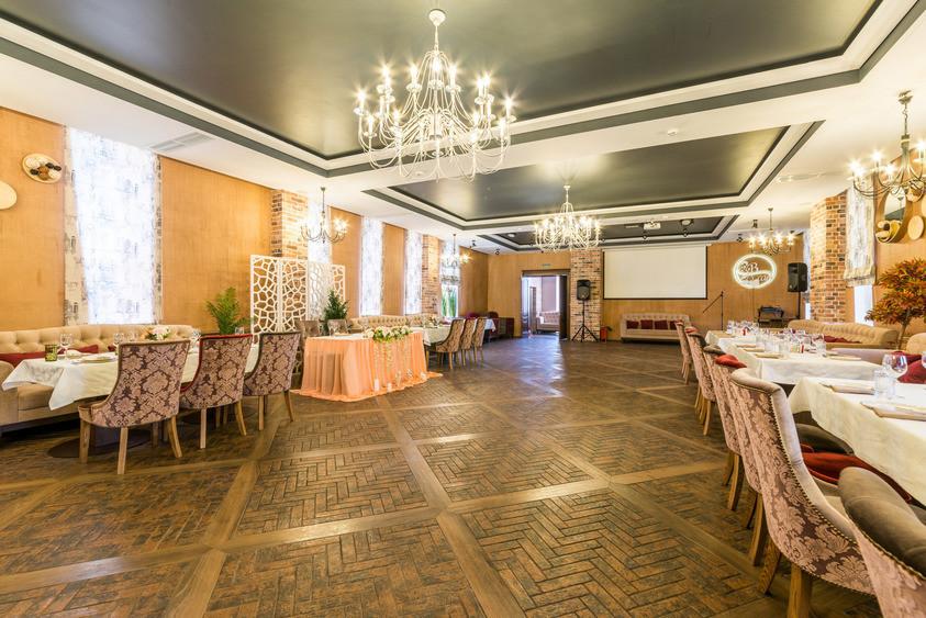 Ресторан, Кафе на 100 персон в ЮЗАО, ЗАО,  от 2500 руб. на человека