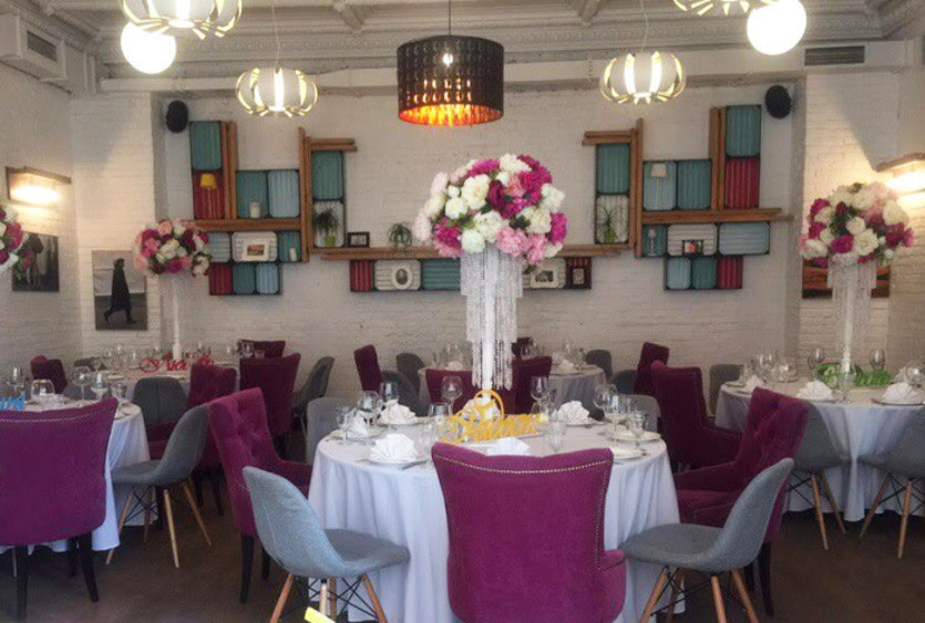 Ресторан, Банкетный зал, Кафе на 50 персон в ЦАО, м. Пушкинская, м. Тверская от 3000 руб. на человека