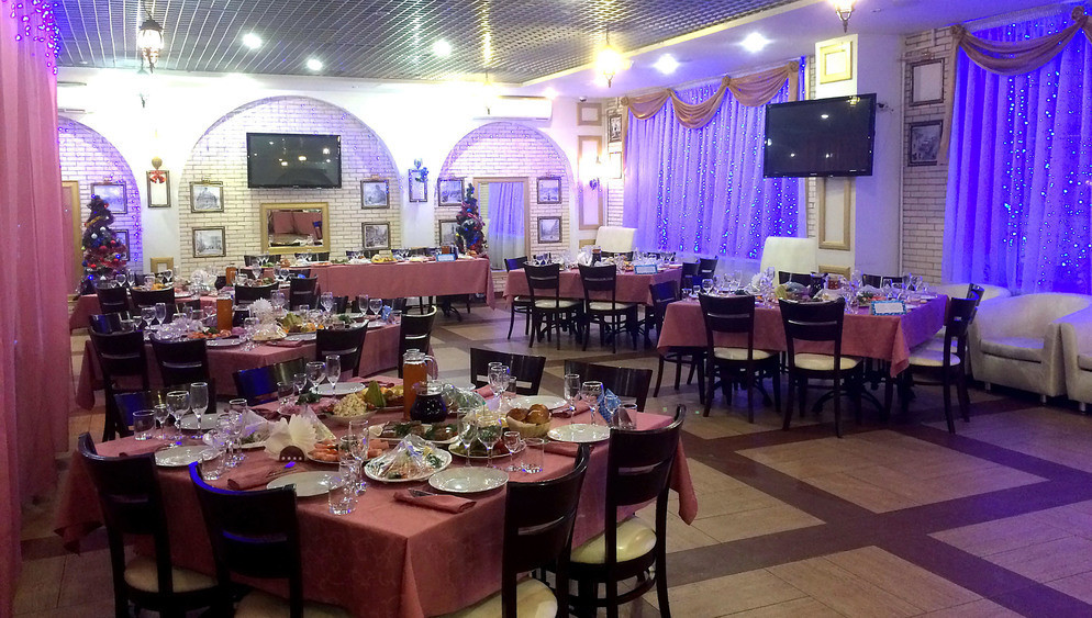 Ресторан, Банкетный зал, Кафе на 100 персон в ЗАО, м. Багратионовская, м. Парк Победы от 1500 руб. на человека