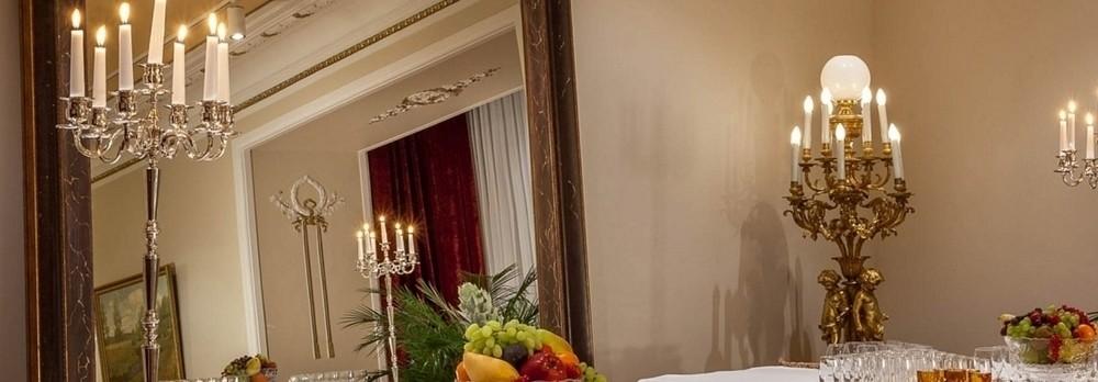 Ресторан, Банкетный зал, При гостинице на 100 персон в ЦАО, м. Театральная, м. Пл. Революции, м. Охотный ряд от 6000 руб. на человека