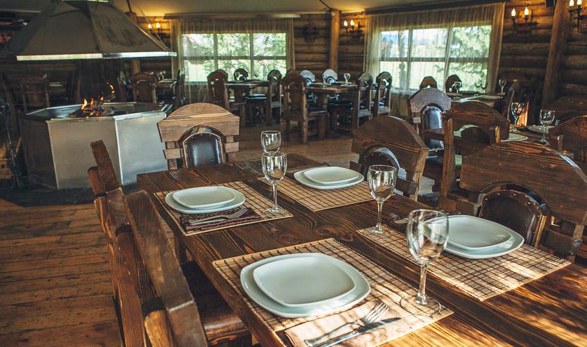 Ресторан, За городом на 50 персон в СВАО, САО,  от 2500 руб. на человека