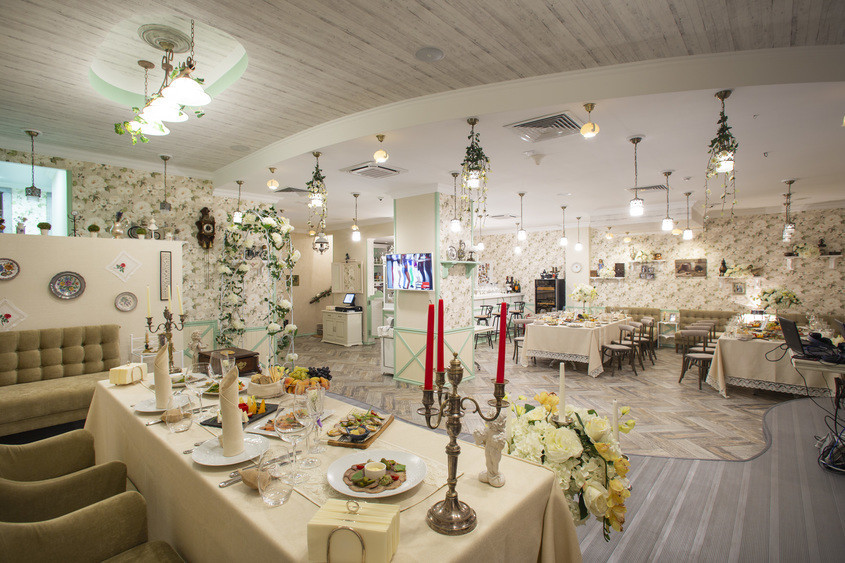 Банкетный зал, При гостинице на 60 персон в ЗАО, м. Пионерская, м. Филевский парк от 3000 руб. на человека