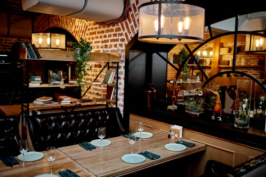 Ресторан на 50 персон в ЗАО, м. Киевская от 2000 руб. на человека