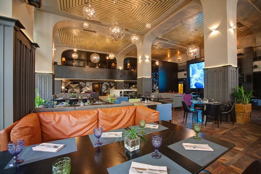 Ресторан на 150 персон в ЦАО, м. Добрынинская, м. Октябрьская, м. Серпуховская от 4500 руб. на человека