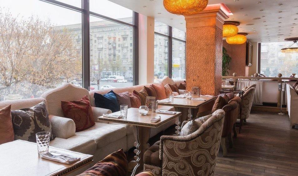 Ресторан на 140 персон в ЗАО, м. Кутузовская, м. Парк Победы от 2500 руб. на человека