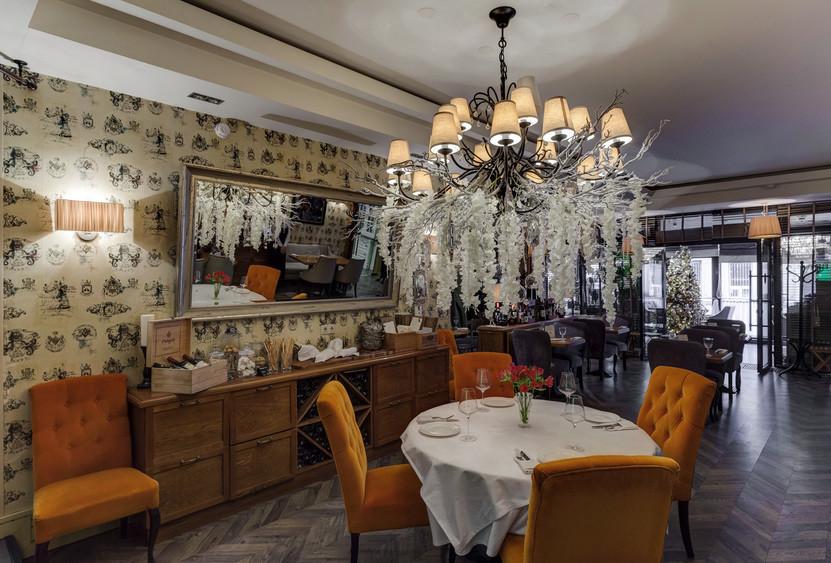 Ресторан на 60 персон в ЦАО, м. Арбатская от 2500 руб. на человека