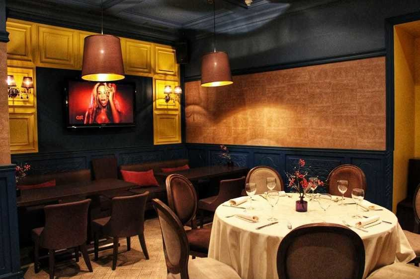 Ресторан на 22 персон в ЦАО, ЗАО, м. Киевская, м. Студенческая от 2500 руб. на человека