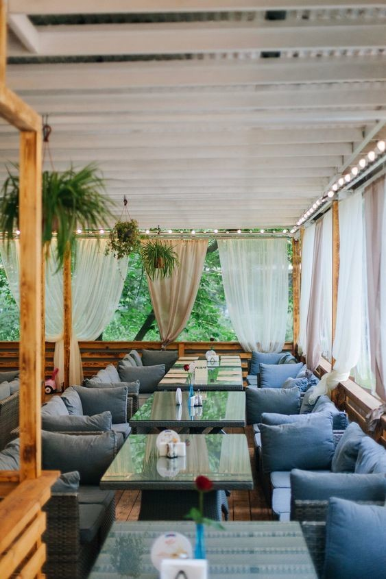 Ресторан, Летняя веранда на 100 персон в СВАО, м. Сокольники от 2500 руб. на человека