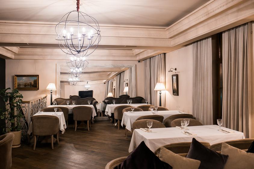 Ресторан на 50 персон в ЦАО, м. Краснопресненская, м. Баррикадная, м. Смоленская, м. Выставочная от 2500 руб. на человека