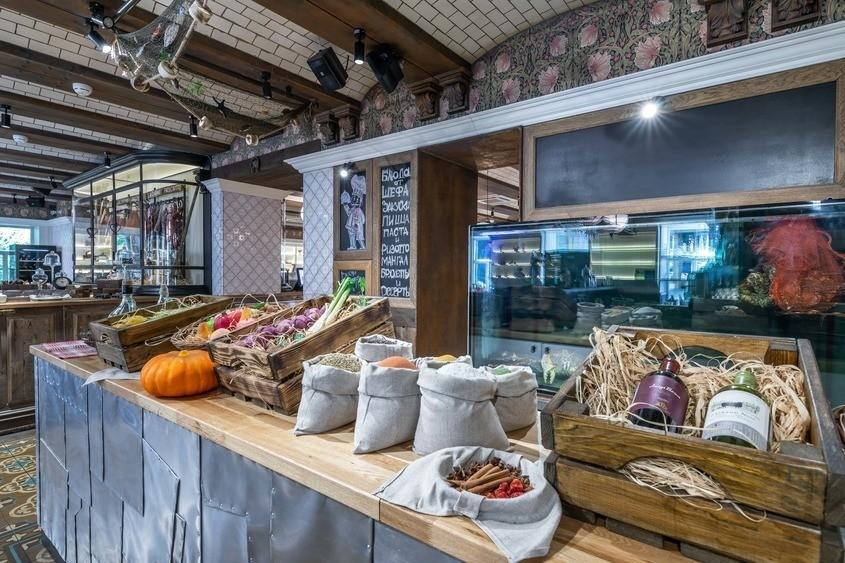 Ресторан, Банкетный зал на 100 персон в ЦАО, м. Смоленская от 2500 руб. на человека