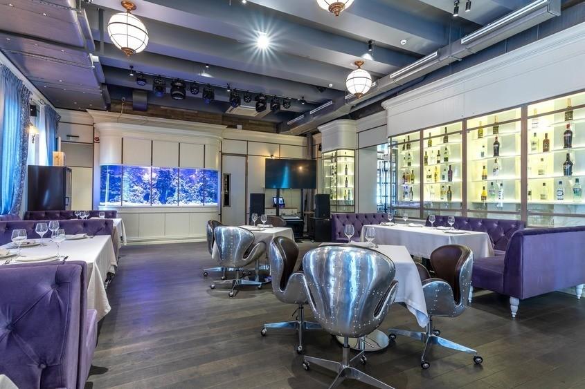 Ресторан, Банкетный зал на 40 персон в ЦАО, м. Смоленская от 2500 руб. на человека