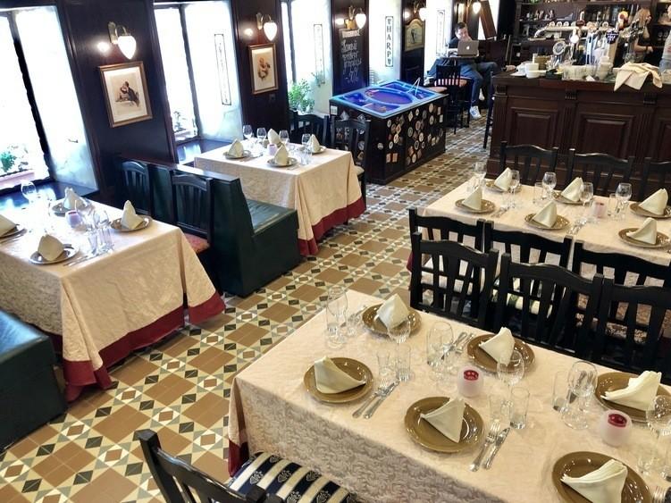 Ресторан, Банкетный зал на 60 персон в ЦАО, м. Курская, м. Чистые пруды, м. Китай-город от 1500 руб. на человека