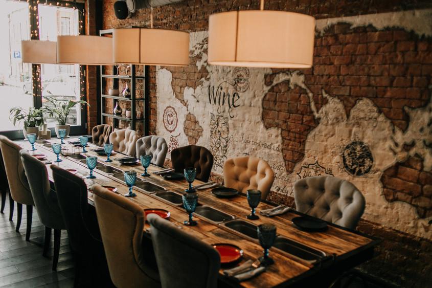 Ресторан, Банкетный зал на 16 персон в ЦАО, м. Маяковская от 2500 руб. на человека