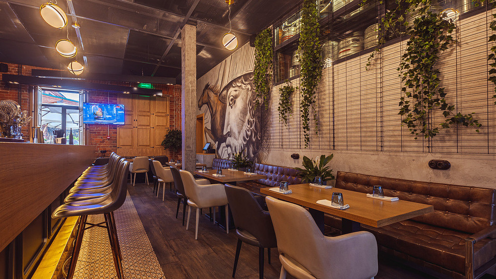 Ресторан, Банкетный зал на 45 персон в ЦАО, м. Белорусская от 3000 руб. на человека