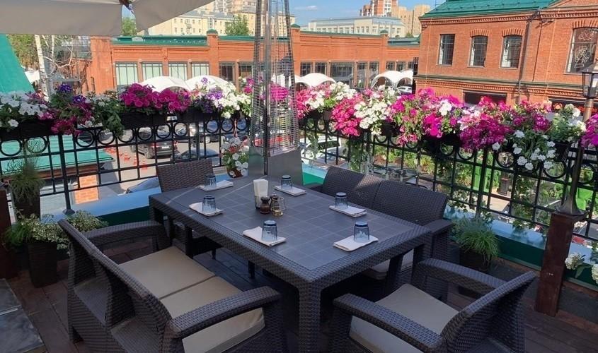 Ресторан, Летняя веранда на 40 персон в ЦАО, м. Белорусская от 3000 руб. на человека