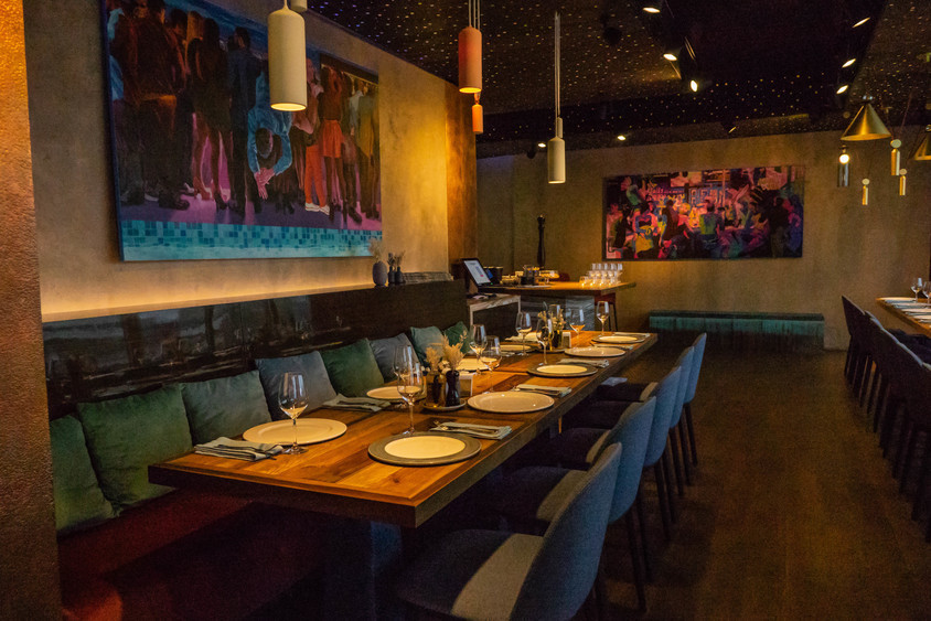 Ресторан на 55 персон в ЦАО, м. Парк культуры от 5000 руб. на человека