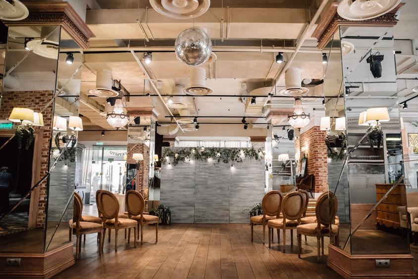 Ресторан, Банкетный зал, При гостинице на 120 персон в ВАО, м. Партизанская от 3500 руб. на человека