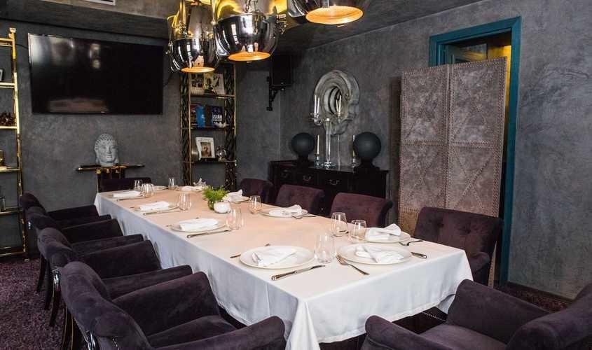 Ресторан, Банкетный зал на 12 персон в ЦАО, м. Смоленская от 4000 руб. на человека