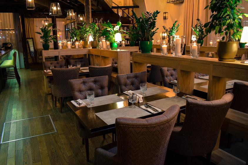 Ресторан, Банкетный зал, При гостинице на 75 персон в ЦАО, ВАО, м. Электрозаводская, м. Бауманская от 2500 руб. на человека