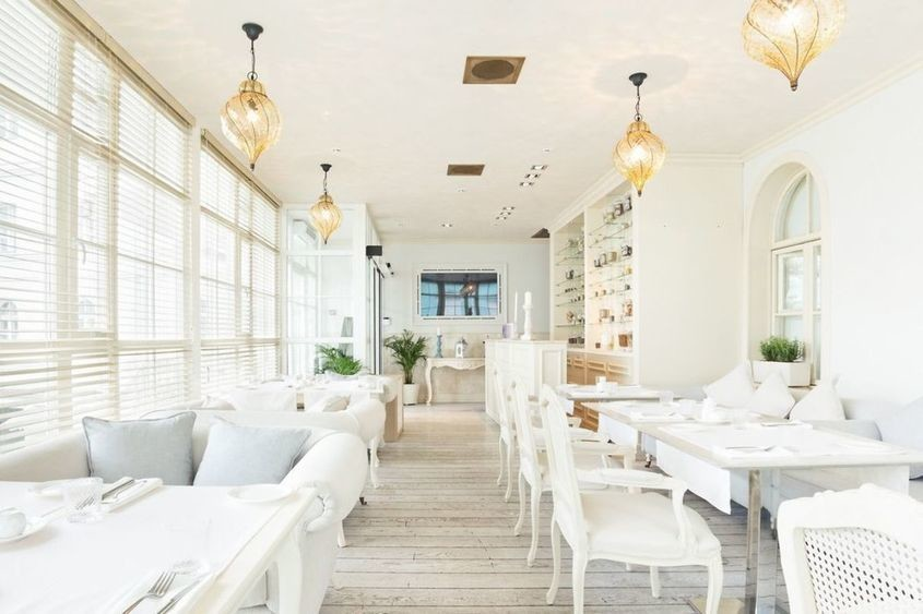 Ресторан на 20 персон в ЦАО, м. Смоленская от 2500 руб. на человека