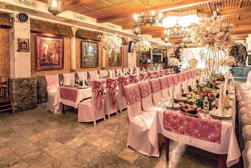 Ресторан, Банкетный зал, При гостинице на 120 персон в ЮАО, м. Зябликово, м. Красногвардейская, м. Домодедовская от 2500 руб. на человека