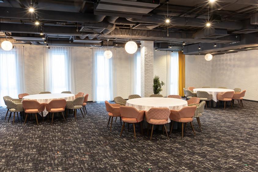 Ресторан, Банкетный зал, Конференц-зал на 220 персон в ЦАО, м. Парк культуры от 2500 руб. на человека