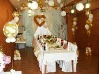 Свадебное кафе в свадебном зале