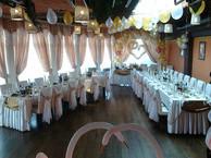 Большое свадебное кафе