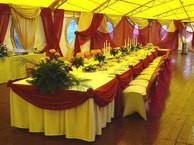 Свадебное торжество в свадебном кафе
