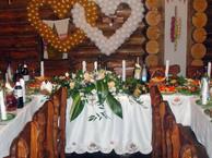 Фуршеты на свадебные банкеты