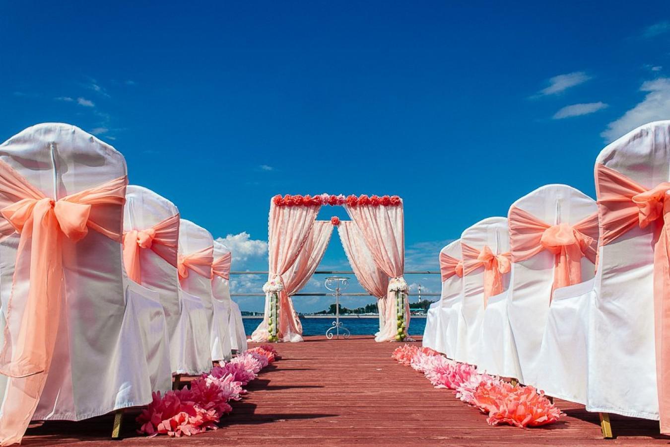 свадебный тематический банкет
