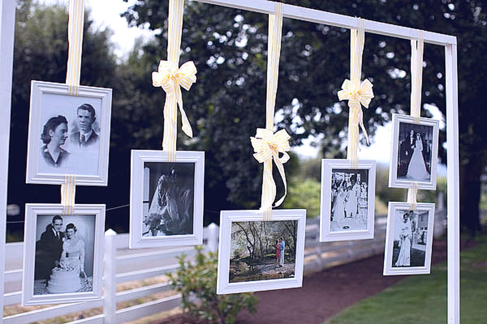 декорация свадьбы