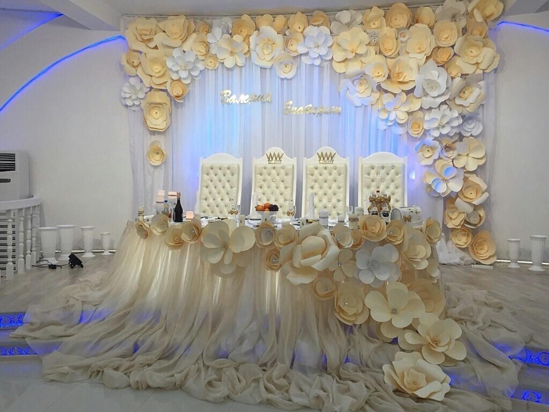 украсить свадебное торжество