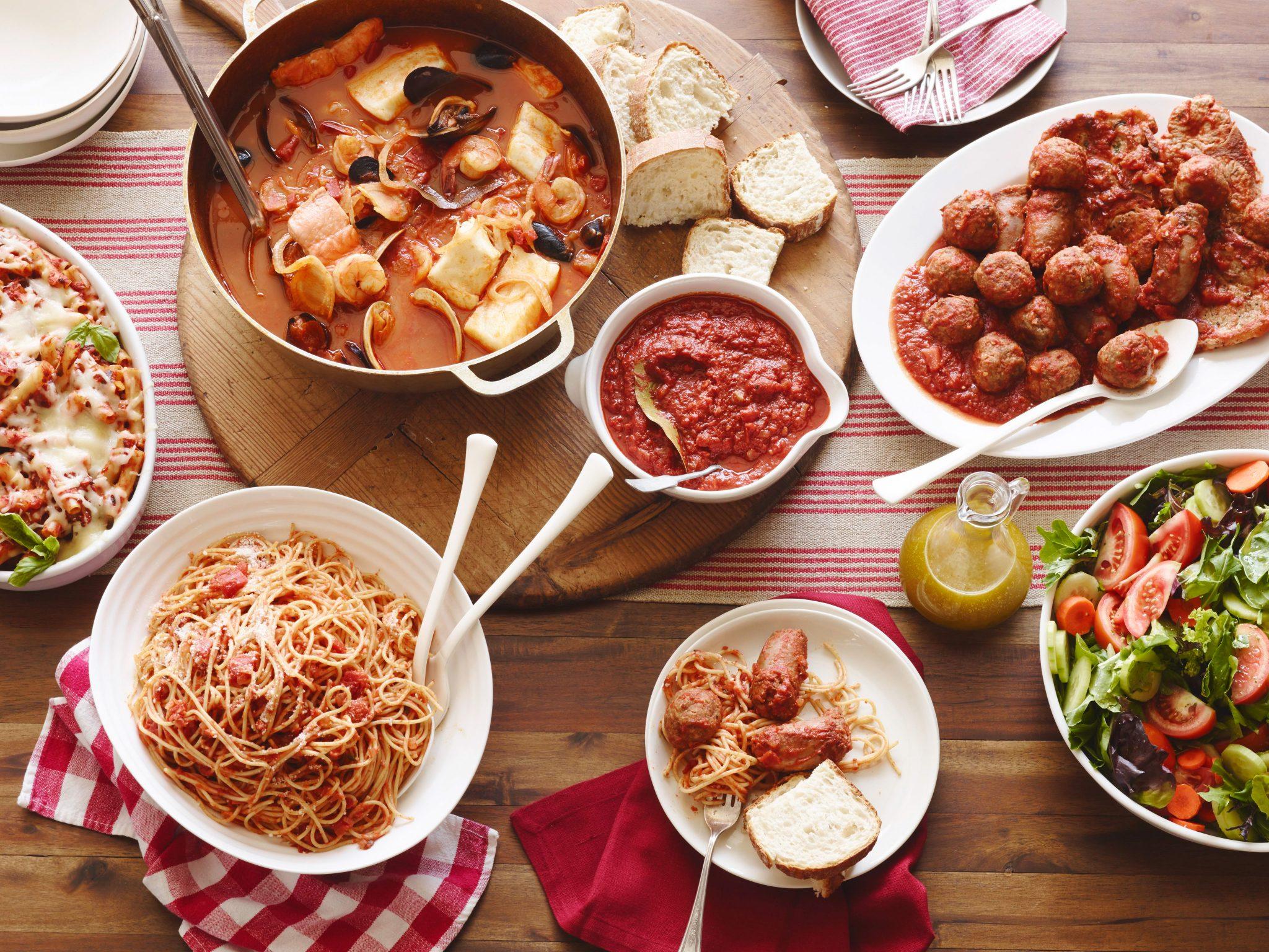 Вечеринка в итальянском стиле