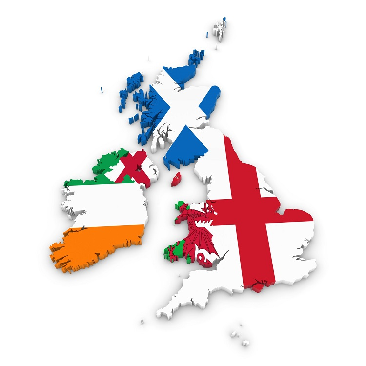 アイルランドとイギリス
