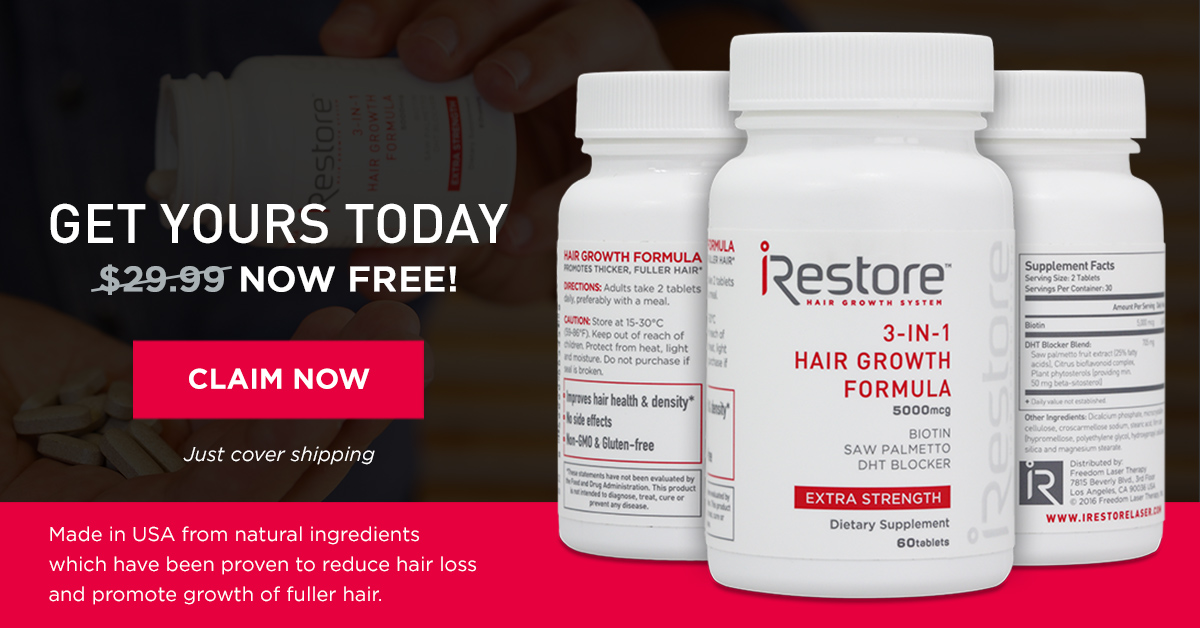 If You Re A Woman Over 40 You Need To Know This About Your Hair Irestore Laser Irestore Hair Growth System