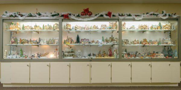 Christmas Display By Mishia