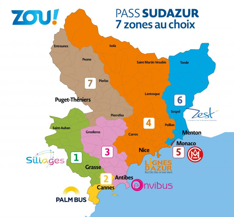 carte pass sud azur