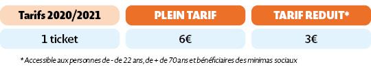 Tarifs ZOu05