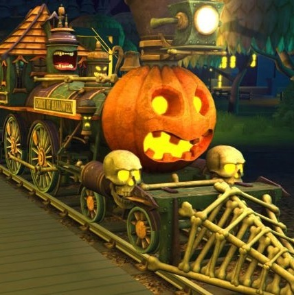 train halloween