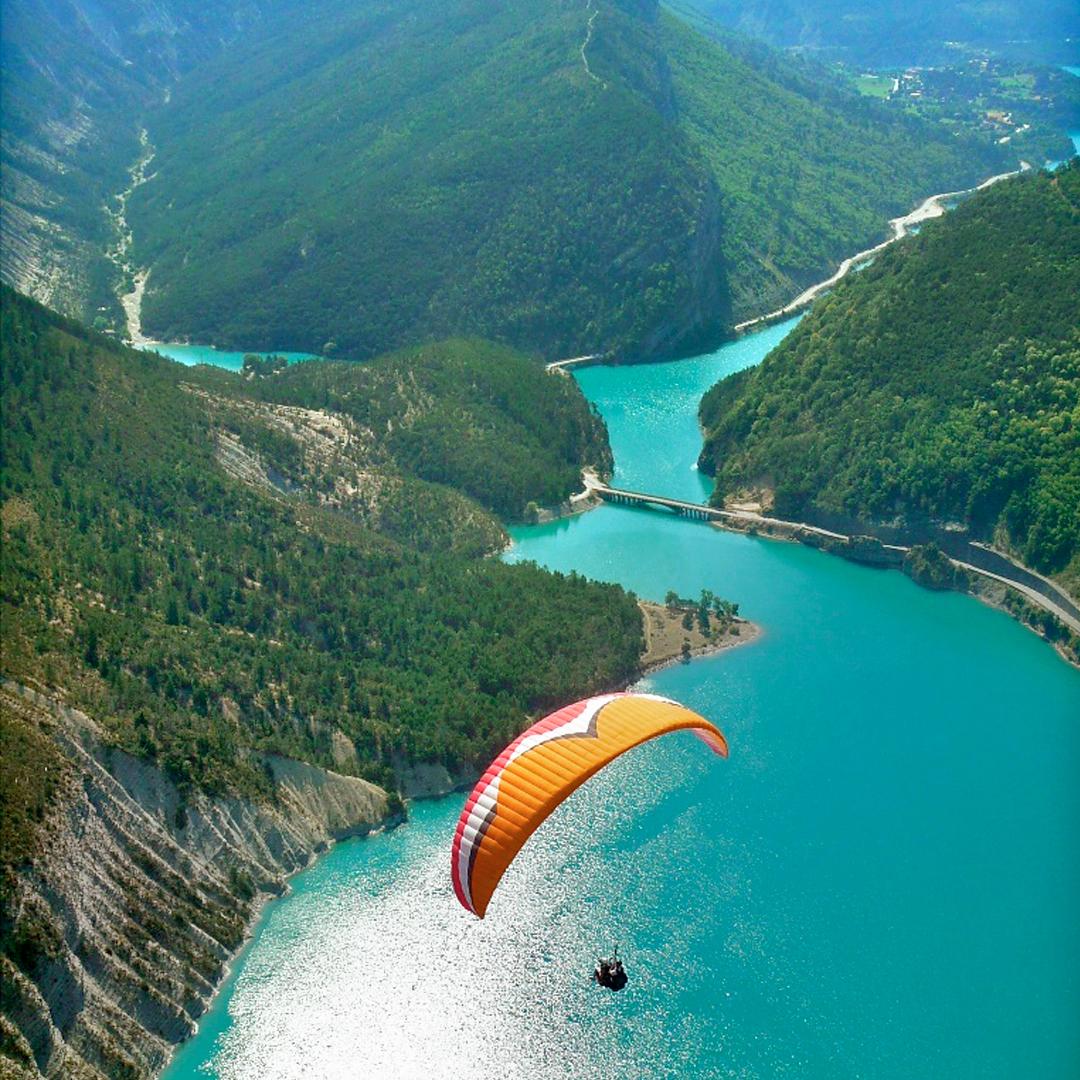 Lac de Castillon Saint-André-les-Alpes ©CheminsdeferdeProvence