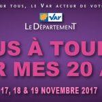 La Fête du Livre fête ses 20 ans à Toulon les 17,18,19 novembre 2017