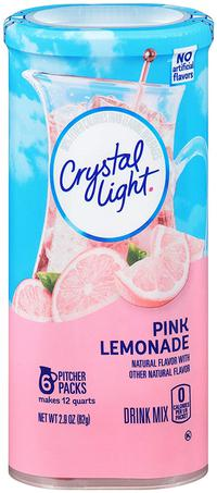 Crystal Light Drink Mix Pink Lemonade