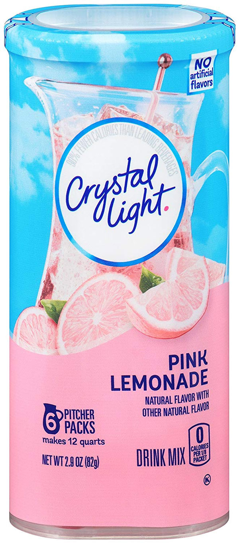 Crystal Light Drink Mix Pink Lemonade