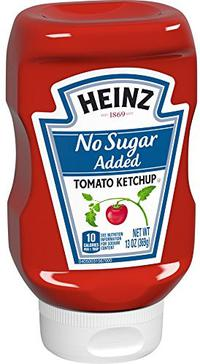 Heinz Tomato Ketchup No Sugar Added