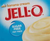 Jello-O Sugar-Free Instant Pudding Banana Cream