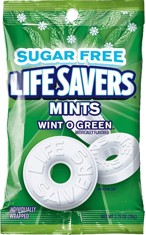 Life Savers Wint O Green Sugar-Free