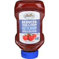 Sprouts Farmers Market Reduced Sugar & Sodium Ketchup