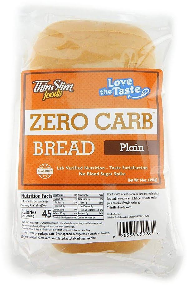 ThinSlim Foods Zero Carb Bread