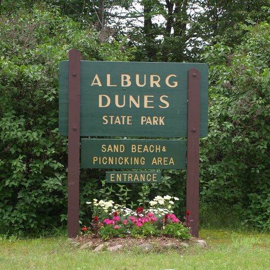Alburgh Dunes State Park